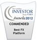 Best FX Platform 2012